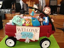 best 25 welcome wagon ideas on pinterest cute baby shower gifts welcome wagon fill it with books toys bibs diapers