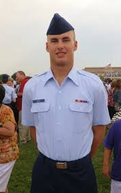 air force graduation day after 2 months of boot camp at lackland