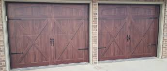 wooden garage doors in plano tx