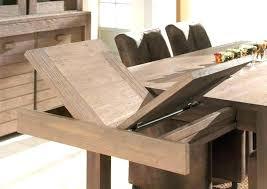 cuisine bois brut table de cuisine bois jaol me
