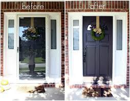 front door house just say no to storm doors tutorial crazy wonderful