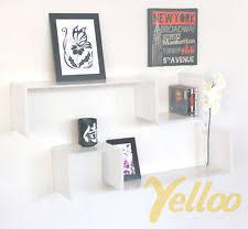 mensole laccate lucide mobili e pensili mensole bianche per il salotto ebay