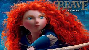 brave movie game english princess merida disney complete