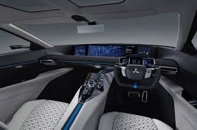mitsubishi evo interior mitsubishi e evolution ev the suv that teaches you how to drive
