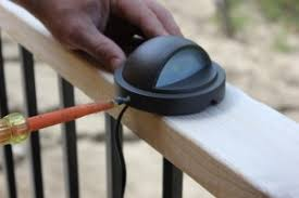 how to install low voltage landscape lighting deck lights