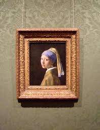painting girl with a pearl earring girl with a pearl earring the frame