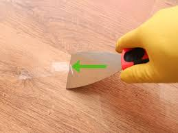 Best Way To Protect Hardwood Floors From Furniture by 4 Ways To Remove Adhesive From A Hardwood Floor Wikihow