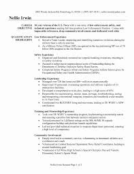 fbi police officer sample resume mitocadorcoreano com