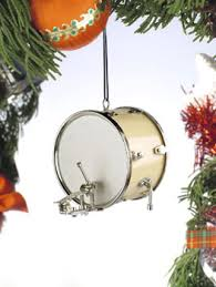 drum bum miscell bass drum ornament