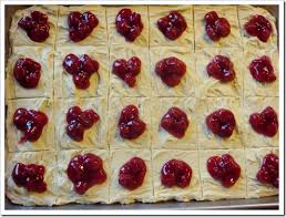 twelve days of christmas cookies cherry shortbread squares no