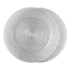 fitz floyd wave charger plates set of 2 free shipping on