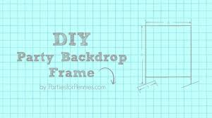 wedding backdrop measurements how to build a diy backdrop