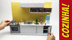how to make kitchen furniture for barbie dolls youtube