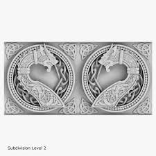 3d model celtic ornament cgtrader