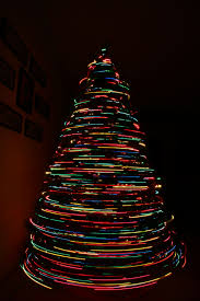 Zoo Med Lighting by Long Exposure Of My Christmas Tree Spinning And Then I Zoomed In