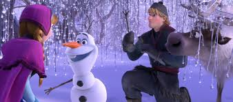 image anna olaf kristoff sven ice forest png frozen wiki