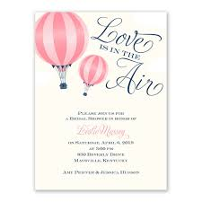 Wedding Shower Invites Love Is In The Air Petite Bridal Shower Invitation Invitations