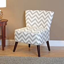 White Accent Chair Dorel Living Chevron Accent Chair Gray And White
