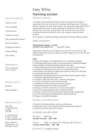 Resumes For Marketing Jobs by Marketing Resume Skills Berathen Com