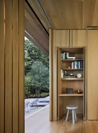 steel frame glass doors steel frame sustainable weekend house with all glass facade