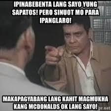 Sapatos Pa Meme - hoy senador pondo para sa mahihirap na magsasaka ibubulsa mo pa