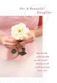 In Birthday Card Rose In Hands Daughter Birthday Card Greeting Cards Hallmark