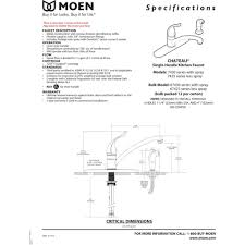 Parts For Moen Kitchen Faucets Moen 7430 Parts Moen 7430 Installation Moen 114319 Moen 7430 Pdf