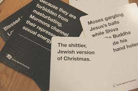 cards against humanity the
