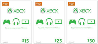 xbox cards xbox digital gift card 50