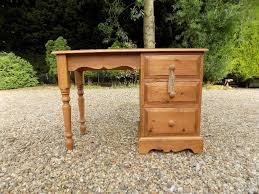 writing desk with drawers solid pine dressing table writing desk with drawers in norwich