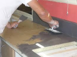 beton ciré pour plan de travail cuisine nicolas cheze spécialisé dans la décoration intérieure à tulle