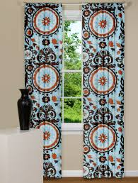 Suzani Curtain Modern Curtains Suzani Panel