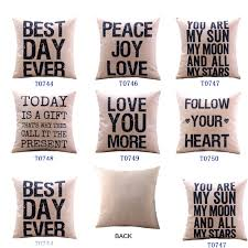 home decor pillows accessories pretty throw pillows letters images decorative words