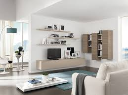 Wall Mounted Living Room Furniture Modern Living Room With Wall Mount Tv Fajah