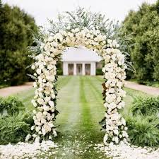 wedding arches names decorative metal arch white 55 wx90 h efavormart