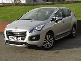 peugeot crossover used used peugeot 3008 1 6 active hdi 65 reg for sale