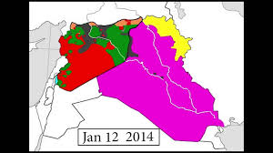 Civil Maps Old Every Day Of The Syrian And Iraqi Civil Wars March 2011