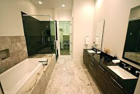 Soapstone Bathtub Contemporary Master Bathroom With Handheld Shower Head U0026 Soapstone