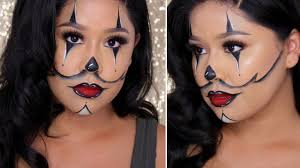 Halloween Makeup Clown Faces by Chrisspy Inspired Gangster Clown Last Minute Halloween Makeup