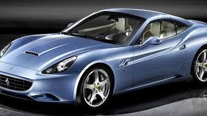 Ferrari California 1962 - bold in blue ferrari shows california gt in azzurro california