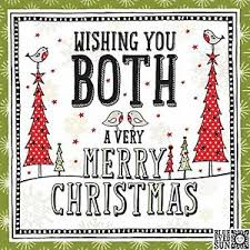blue eyed sun cards wishing you both a merry