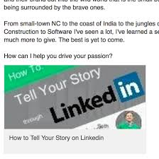 how to create best linkedin profile how to make an attached document on my profile visible to everyone
