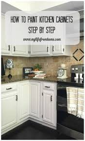 painting kitchen cabinets white diy repainting kitchen cabinets label your doors the easy way