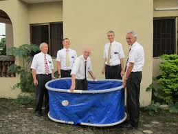 portable baptismal be serving november 2010