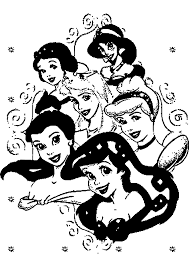 dessins à colorier coloriage princesse à imprimer