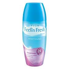 Gluta Fresh hair care feelin fresh whitening roll on deodorant with