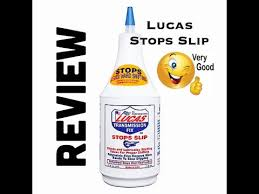 lucas stops slip review transmission fix honda v6 j series