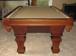 khaki pool table felt so cal pool tables augustine pool table
