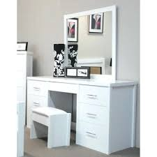 dressing table with mirror and drawers vanity table mirrored by designs 7 drawer dressing table with mirror