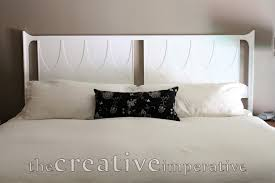 painted headboard the creative imperative white painted headboard